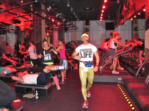Sweaty Saturday 2012 at Barry's Bootcamp Photo: Well + Good